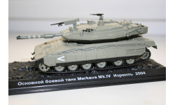 1/72 Merkava 4 Израиль 2004 - Танки Мира №4, масштабные модели бронетехники, арсенал коллекция, scale43