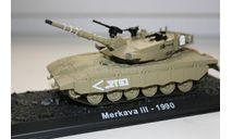 1/72 Merkava 3 Израиль 1990 - Танки Мира №6, масштабные модели бронетехники, арсенал коллекция, 1:72