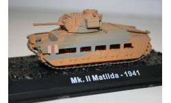 1/72 Матильда Мк.2 1941 - Танки Мира №6, масштабные модели бронетехники, арсенал коллекция, scale43