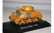 1/72 М3 ГРАНТ МК.1 1943 - Танки Мира №2, масштабные модели бронетехники, арсенал коллекция, 1:72