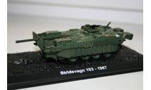 1/72 Stridsvagn 103 1987- Танки Мира №25, масштабные модели бронетехники, арсенал коллекция, 1:72