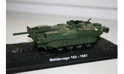 1/72 Stridsvagn 103 1987- Танки Мира №25, масштабные модели бронетехники, арсенал коллекция, scale43