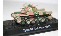 1/72 Type 97 Chi-Ha -Япония 1941- Танки Мира №20, масштабные модели бронетехники, арсенал коллекция, scale43