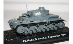 1/72 Pz.Kmpf.4 Германия 1941 Трофейный- Танки Мира №2, масштабные модели бронетехники, Eaglemoss, scale43