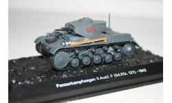 1/72 PzKpfw 2 Ausf.F(Sd.Kfz.121)-1942 Танки Мира №24, масштабные модели бронетехники, Eaglemoss, scale43