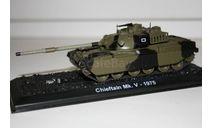 1/72 Chieftain Mk.5-1975- Танки Мира №29, масштабные модели бронетехники, Eaglemoss, 1:72