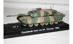1/72 Type 90 Япония 1992 - Танки Мира №39, масштабные модели бронетехники, Eaglemoss, scale43
