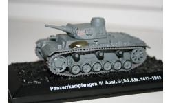 1/72 Pz.Kmpf.3 Ausf.G Германия 1941 - Танки Мира №36, масштабные модели бронетехники, Eaglemoss, scale43