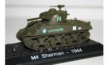 1/72 М4 Sherman 1944- Танки Мира Спецвыпуск №7, масштабные модели бронетехники, Eaglemoss, 1:72