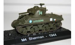 1/72 М4 Sherman 1944- Танки Мира Спецвыпуск №7, масштабные модели бронетехники, Eaglemoss, scale43