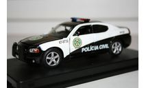1/43 Dodge Gharger Sad Paulo Police-2006 Fast Furious- Из к/ф Форсаж-Limited Edition - GREENLIGHT, масштабная модель, Greenlight Collectibles, scale43