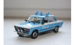 1/43 FIAT 125P MILICJA Специальный выпуск.-Kultowe AUTA PRL-u   IXO