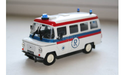 1/43 NYSA-522 Ambulans- Специальный выпуск.-Kultowe AUTA PRL-u    IXO