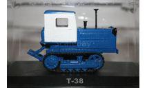 1/43 Т-38 ТРАКТОРЫ №107 - HACHETTE, масштабная модель, scale43