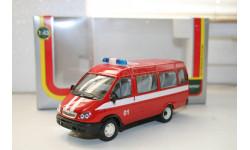 1/43 ГАЗ- Газель-Автобус-Пожарный-АГАТ(МОССАР) Саратов.