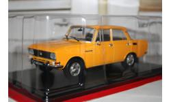 1/24 Москвич 2140 №43 -Легендарные советские автомобили HACHETTE, масштабная модель, scale24