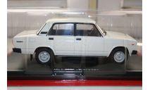 1/24 ВАЗ-2105 №57 -Легендарные советские автомобили HACHETTE, масштабная модель, scale43