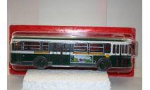 1/43 Saviem SC10U FRANCE - green/white - серия «Autobus et autocars du Monde» № 47 Hachette, масштабная модель, scale43