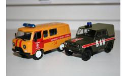 1/43 АГС (УАЗ-3909) Аварийка - УАЗ-469 ВАИ  Автомобиль на службе- DeA, масштабная модель, Иж, DeAgostini, 1:43