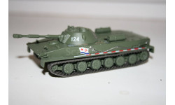 1/72 ПТ-76 Русские танки Eaglemoss №69, масштабные модели бронетехники, scale43