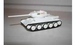 1/72 Т-34-85 Русские танки Eaglemoss №63, масштабные модели бронетехники, scale43