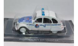 CITROEN 2CV, журнальная серия Полицейские машины мира (DeAgostini), 1:43, 1/43, Citroën