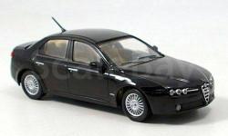 1:43 Alfa Romeo 159, schwarz, B-Quality 2005 L.E. 1998pcs., масштабная модель, 1/43, M4
