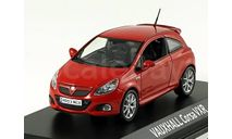 1:43 Vauxhall Corsa VXR 2007 red, масштабная модель, 1/43, Norev, Vauxhall Motors