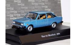 1:43 Fiat 131 Mirafiori, met. blau 1971, масштабная модель, 1/43, Starline