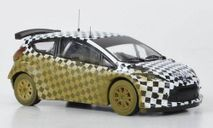 1:43 Ford Fiesta S 2000, M.Wilson, Testfahrzeug Greystoke Forest 2009, масштабная модель, 1/43, IXO Rally (серии RAC, RAM)