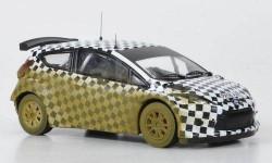 1:43 Ford Fiesta S 2000, M.Wilson, Testfahrzeug Greystoke Forest 2009