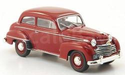 1:43 Opel Olympia Limousine, dkl.-rot 1951 L.E.1000pcs., масштабная модель, 1/43, WhiteBox