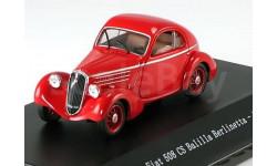 1:43 Fiat 508 CS Balilla Berlinetta 1935 red, масштабная модель, 1/43, Starline