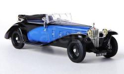 1:43 Delage D8SS Fernandez & Darrin 1932 blue/black MUS046, масштабная модель, 1/43, IXO Museum (серия MUS)