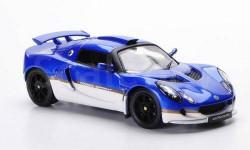 1:43 Lotus Exige Sprint, met.-blau/weiss, LHD 2006, масштабная модель, 1/43, IXO Road (серии MOC, CLC)