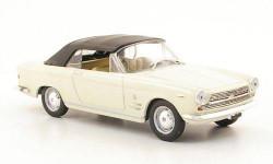 1:43 Fiat 2300 S Cabriolet, weiss 1962, масштабная модель, 1/43, Starline