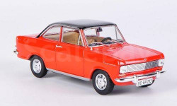 1:43 Opel Kadett A Coupe, rot/schwarz 1963, масштабная модель, 1/43, Starline