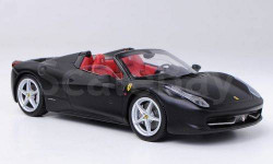 1:43 Ferrari 458 Spider, matt-schwarz L.E. 5000 pcs