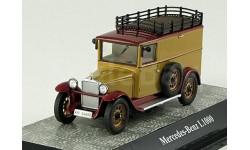 1:43 Mercedes L1000 Express, braun, L.Е.1000 pcs RAR, масштабная модель, 1/43, Premium Classixxs, Mercedes-Benz