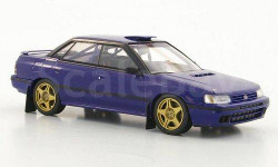 1:43 Subaru Legacy RS Gr.A Plain Body Version blue, масштабная модель, 1/43, HPI