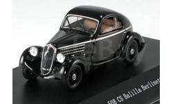 1:43 Fiat 508 CS Balilla Berlinetta, schwarz 1935, масштабная модель, 1/43, Starline