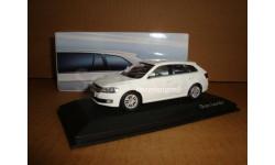 1:43 Volkswagen new Gran Lavida hatchback model white color China SVW 2013, масштабная модель, 1/43