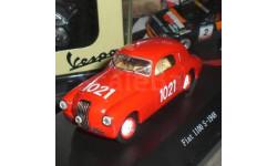 1:43 Fiat 1100 S, No.1021, Mille Miglia 1948, масштабная модель, 1/43, Starline
