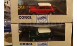 1:43 MINI COOPER красный, масштабная модель, 1/43, CORGI