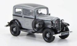 1:43 Opel P4 Limousine, grau/schwarz 1935-37 L.E.1000pcs., масштабная модель, 1/43, WhiteBox