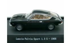 1:43 Lancia Fulvia Sport 1.3S, schwarz 1968, масштабная модель, 1/43, Starline