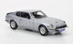 1:43 Datsun 260Z 2+2, silbergrau 1975 RAR, редкая масштабная модель, 1/43, Neo Scale Models