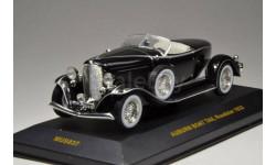 1:43 Auburn Boat Tail Roadster 1933 black/silver MUS037, масштабная модель, 1/43, IXO Museum (серия MUS)