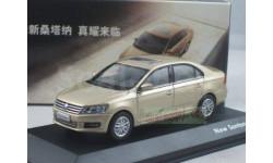 1:43 China VW New Santana Diecast Champagne, масштабная модель, 1/43, Volkswagen