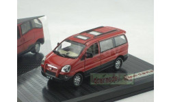 1:43 JAC Refine II Hyundai red, масштабная модель, 1/43